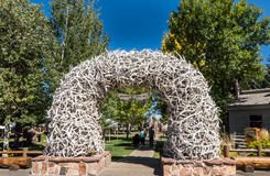 Jackson Hole Wyoming Royalty-vrije Stock Foto