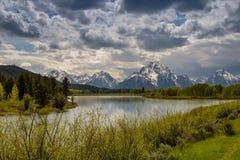 Jackson jezioro, Wyoming Obraz Stock