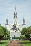 Jackson kwadrat Nowy Orlean, Luizjana obraz stock