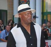 jackson l Samuel Jackson al Giffoni Ekranowy festiwal 2010 Zdjęcie Stock