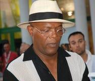 jackson l Samuel Jackson al Giffoni Ekranowy festiwal 2010 Obraz Royalty Free