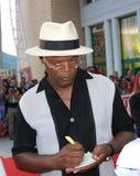 jackson l Samuel Jackson al Giffoni Ekranowy festiwal 2010 Obraz Stock