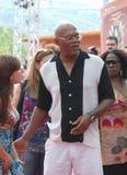 jackson l Samuel Jackson al Giffoni Ekranowy festiwal 2010 Zdjęcie Royalty Free