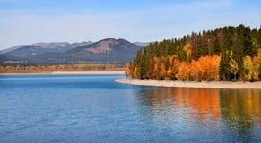 Jackson lake Royalty Free Stock Image