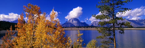 Jackson Lake Stock Image