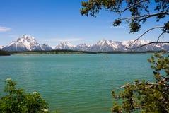 Jackson Lake in Stock Image