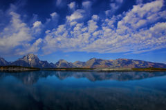 jackson lake Royaltyfria Bilder
