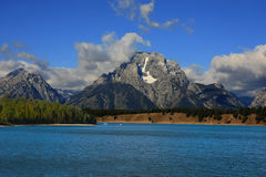 Jackson Lake Royalty Free Stock Photo