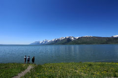 Jackson Lake,Grand Tetons,Wyoming Royalty Free Stock Photography