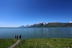Jackson Lake,Grand Tetons,Wyoming royalty free stock photography