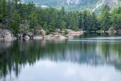 Jackson Lake in Killarney Provincial Park Royalty Free Stock Images