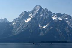 Jackson Lake, parque nacional grande de Teton, Wyoming, EUA imagem de stock royalty free