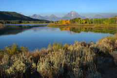 Jackson Lake, The Tetons Royalty Free Stock Photography