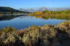 Jackson Lake, The Tetons Royalty Free Stock Photography
