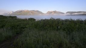 Jackson Lake Wyoming Raw Video stock video footage