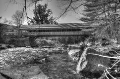 Jackson, ll de pont de NH Photo libre de droits