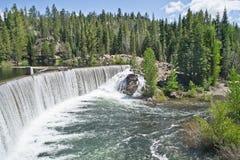 Jackson Meadow Reservoir Dam Fotos de archivo libres de regalías