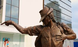 jackson michael monument till Royaltyfria Bilder