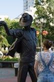 jackson michael monument till Royaltyfri Fotografi