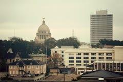Jackson, Mississippi - panorama de cru Photographie stock libre de droits