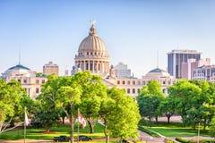 Jackson, Mississippi, USA stockbilder
