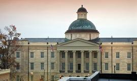 Jackson, Mississippi - vecchia condizione Campidoglio Immagini Stock Libere da Diritti