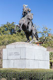 Jackson Monument in French Quarter, New Orleans,  Louisiana Stock Photo
