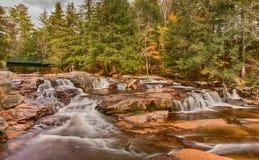 Jackson nedgångar New Hampshire Arkivfoton