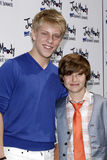 Jackson Odell, Garrett Ryan Royalty Free Stock Photos