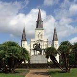 Jackson-Quadrat, New Orleans Stockbilder