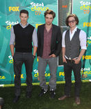 Jackson Rathbone,Kellan Lutz,Robert Pattinson,Jacksons Royalty Free Stock Photos