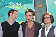 Jackson Rathbone,Kellan Lutz,Robert Pattinson,Jacksons Stock Photo