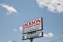 Jackson Restaurant Supply, Jackson TN Stock Photo