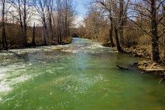 Jackson River bij Verborgen Vallei Recreatief Gebied stock fotografie