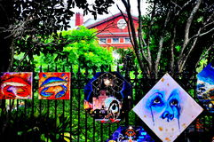 Jackson Square Art in New Orleans, LA