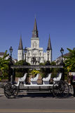 Jackson Square -  French Quarter of New Orleans, Louisiana Stock Photos