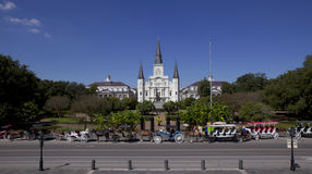 Jackson Square -  French Quarter of New Orleans, Louisiana Royalty Free Stock Photography