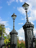 Jackson Square Lamp Posts Royalty Free Stock Photo