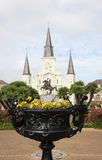 Jackson square in New Orleans Royalty Free Stock Images