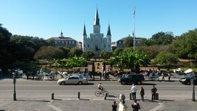 Jackson Square. In new orleans Stock Photos