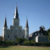 Jackson Square New Orleans Stock Photos