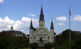 Jackson Square in New Orleans royalty free stock image