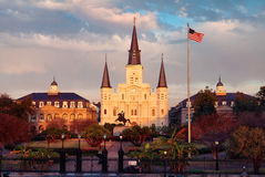 Jackson Square, New Orleans, La. Stock Images