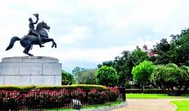 Jackson Square in New Orleans, La Stock Foto