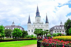 Jackson Square in New Orleans, La Royalty-vrije Stock Afbeeldingen