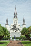 Jackson Square New Orleans, Louisiana stockbild