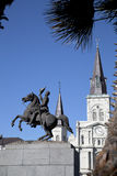 Jackson square in New Orleans Stock Images