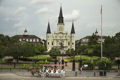 Jackson Square in New Orleans Royalty Free Stock Photo