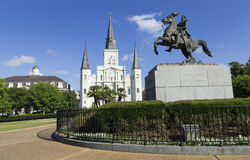 Jackson Square in New Orleans Stock Image