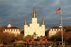 Jackson Square and St. Louis Cathedral Royalty Free Stock Photography